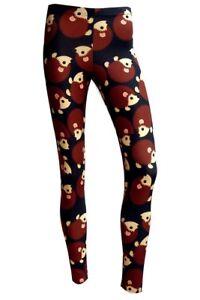 Ladies-Cute-Hedgehog-All-Over-Digital-Printed-Leggings-Goth-Emo-Punk-Size-8-22