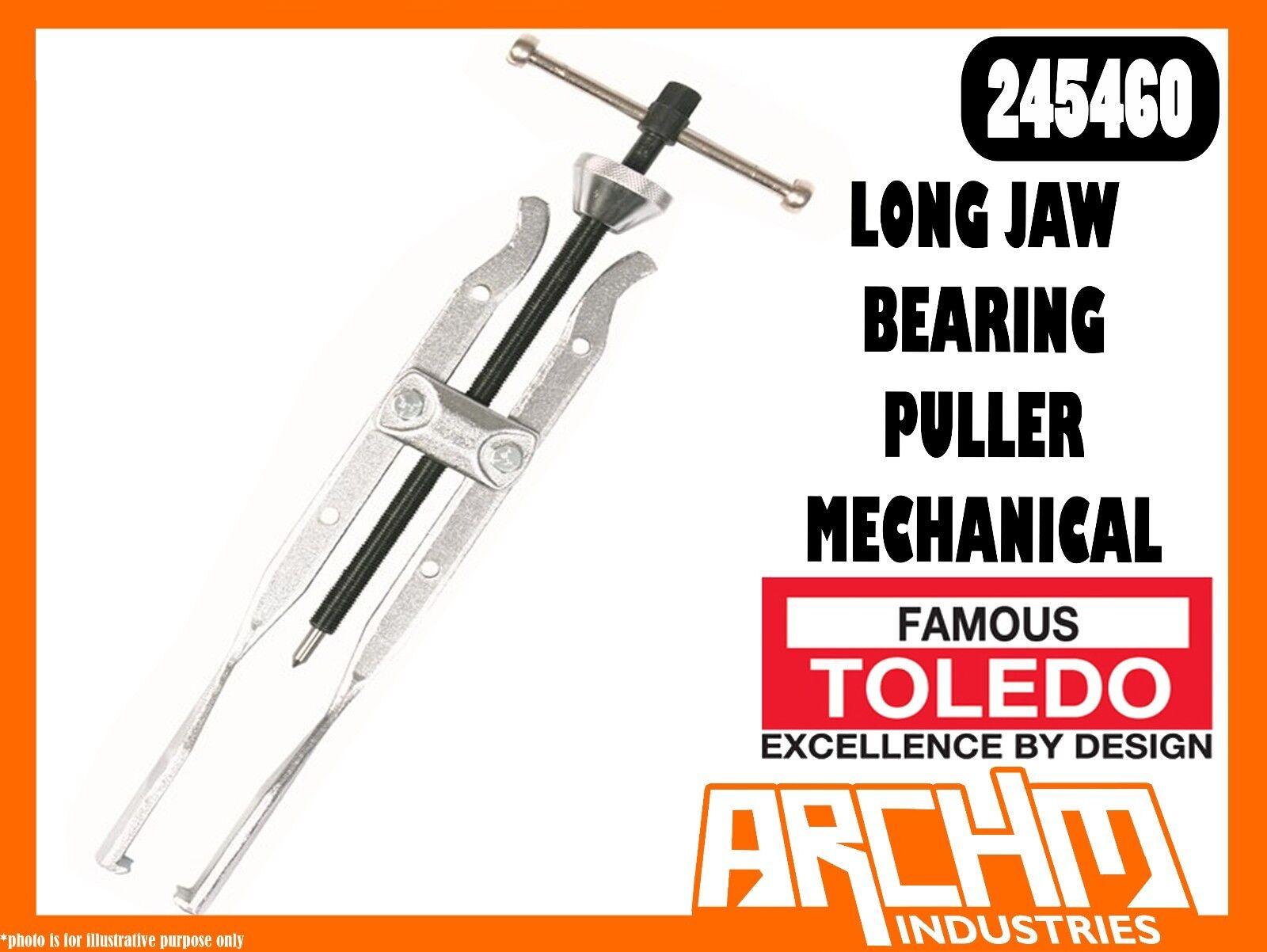 TOLEDO 245460 - LONG JAW BEARING PULLER MECHANICAL - FORCING SCREW REVERSIBLE