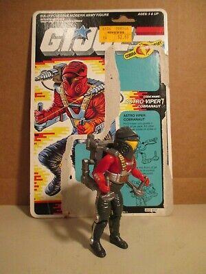 Backblast Gi Joe Hasbro Small 3 3//4 1988 MOC Action Figure ARAH for sale online