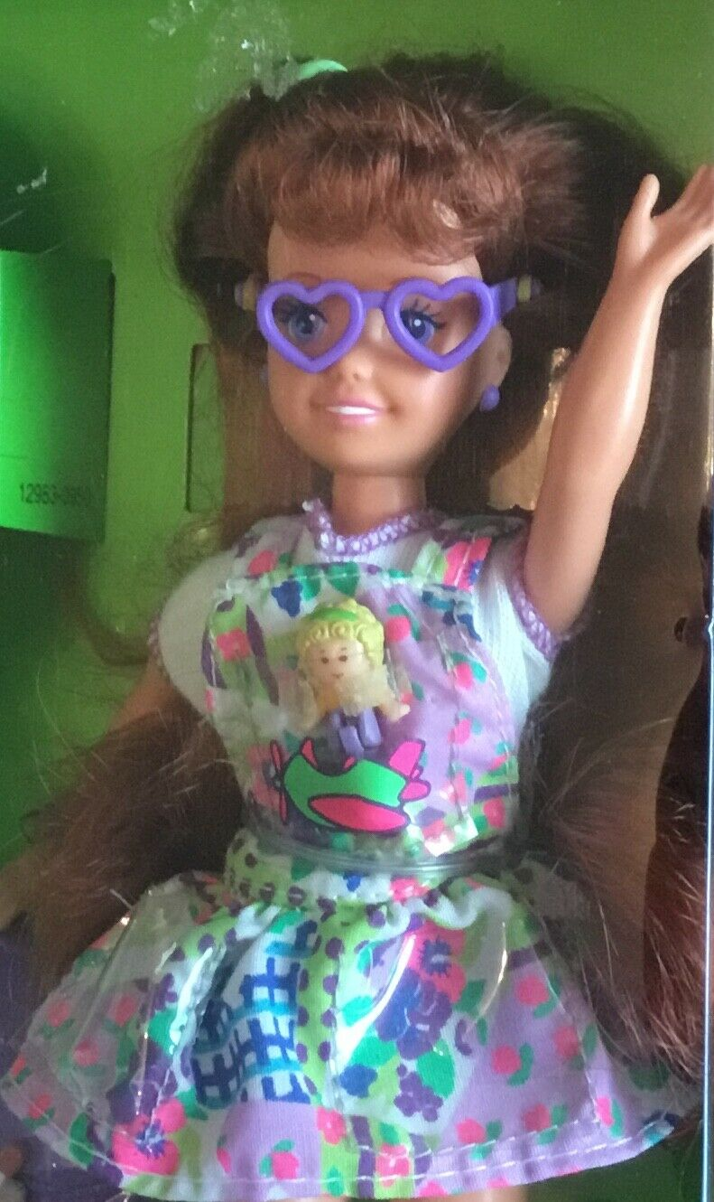 1994 Polly Pocket Whitney doll NRFB friend of Stacie & Barbie
