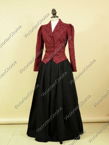 Victorian Costume Dresses & Skirts for Sale  Edwardian Victorian 3PC Suit Jacket Dress Theater Vamipre Halloween Costume 166 $159.00 AT vintagedancer.com