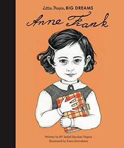 Anne-Frank-Little-People-Big-Dreams-by-Sanchez-Vegara-Isabel-NEW-Book-Har