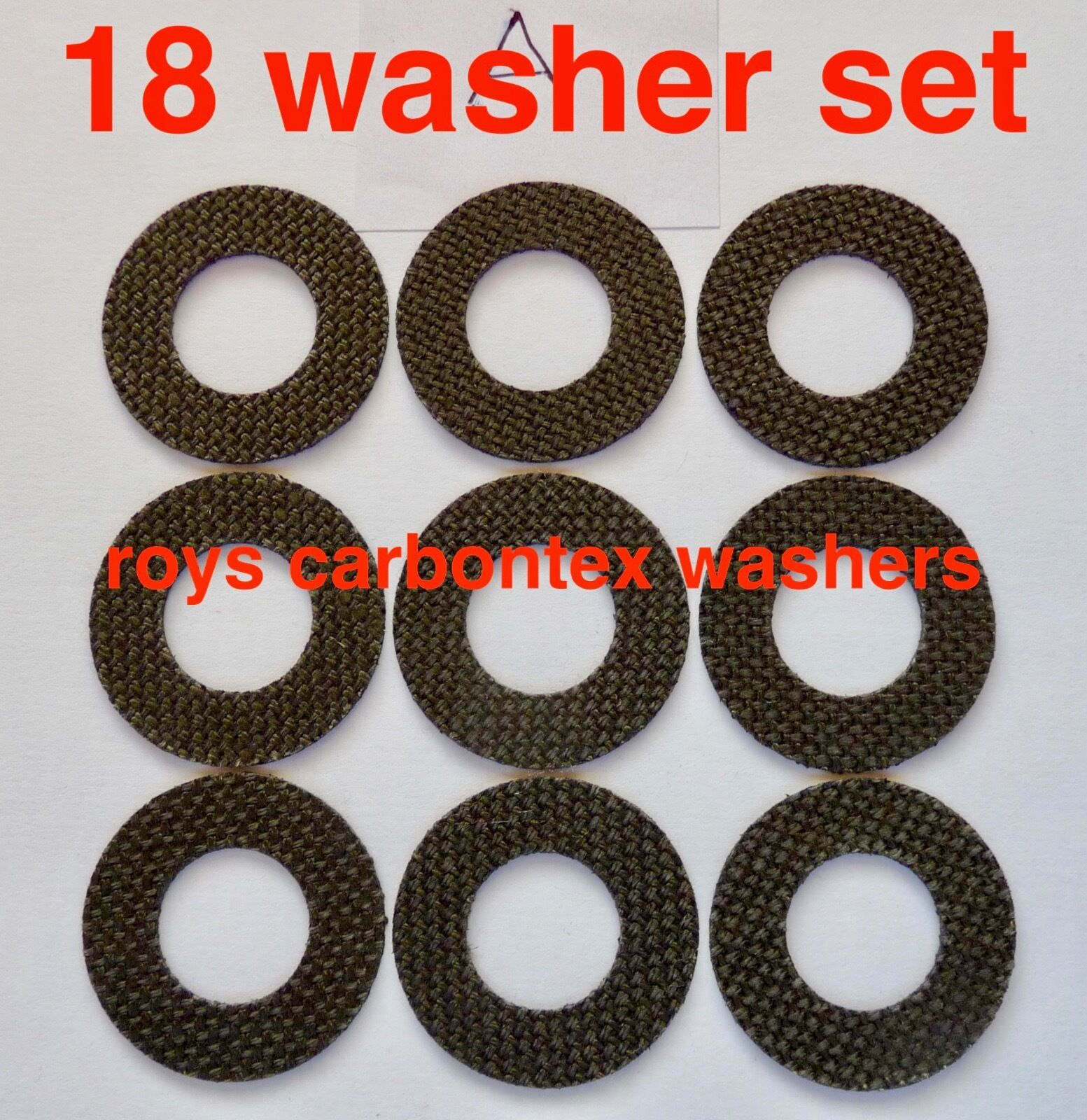 6 sets Roys carbontex drag washers suitable for NEW  shimano ultegra Ci4 14000