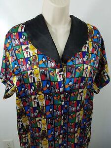 Looney-Tunes-Pajama-Shirt-Size-Medium-1892