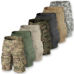 HELIKON-CPU-SHORTS-MENS-MILITARY-STYLE-ARMY-CARGO-COMBAT-RIPSTOP-BDU-VINTAGE-NEW