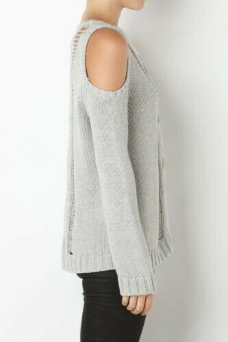 Jumper Xs Sass Bemused the Bide Knit Grey 4qwTt6