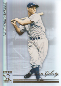 2010-Topps-Tribute-Baseball-18-Lou-Gehrig-New-York-Yankees