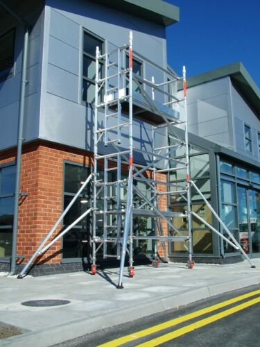 Single//Double Aluminium Scaffold Tower Hire for 7 Days 1 Week