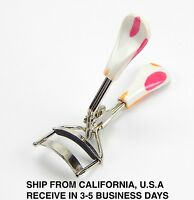 Eyelash Curler Large Handle White