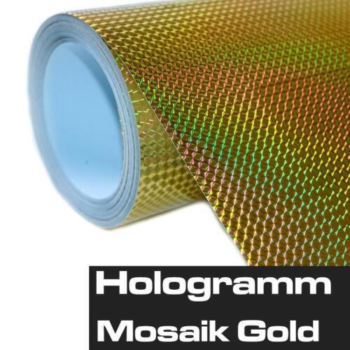Waben Aufkleber Hologram Regenbogenfarben Slick Shiny Glitzer Sticker Auto