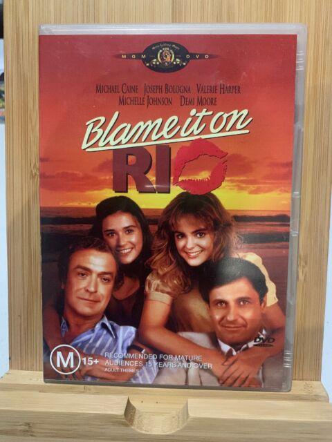 BLAME IT ON RIO DVD RARE Region 4