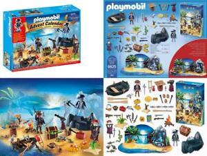 PLAYMOBIL-Advent-Calendar-039-Pirate-Treasure-Island-039-Playset