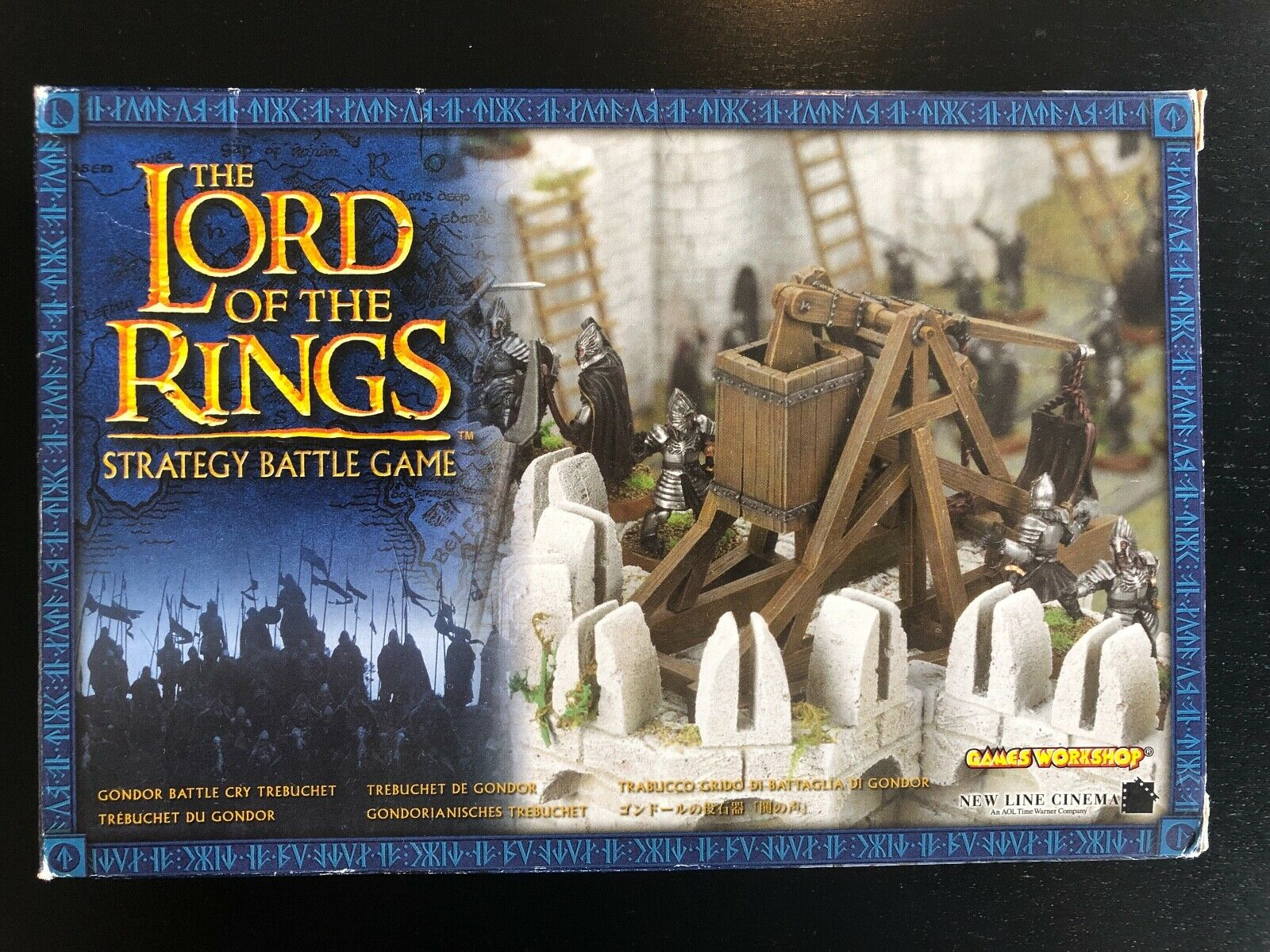 Gondor Battlecry Trebuchet LOTR Metal Strategy Battle Tolkien Lord of the Rings