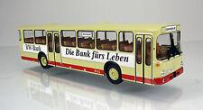 """Brekina 50609 Mercedes Benz O 307 Bus  """" Hzl/BW Bank """""""