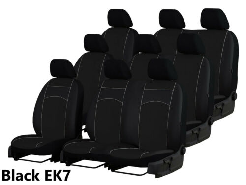 FORD TOURNEO CUSTOM 9 SEATS 2016 2017 2018 2019 ECO LEATHER TAILORED SEAT COVERS