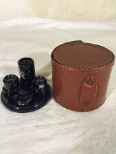 Rare Hard To Find Vintage United Binoculars Chicago 20 Japan 4pc Scope Lens Set