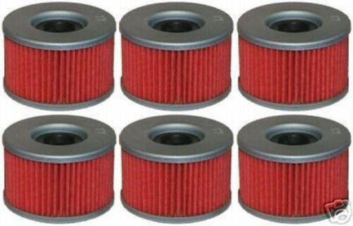 Honda TRX 400 Rancher TRX 650 680 Rincon Oil Filter Filters 6-Pack