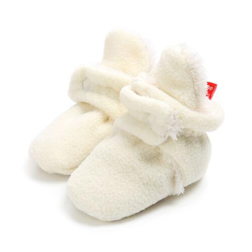 Infant Newborn Sneakers Warm Shoes Cozy Fleece Booties Non Skid Shoes