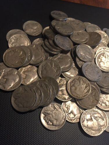 Buffalo Nickel Roll 40 Coins Full Date Buy It Now $32.95 Free Shipping