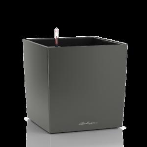 Lechuza Cube premium 30 antracita metalizado, all-in-one-set nuevo embalaje original