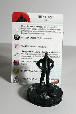 Max Fury #015 Rare Heroclix - Age of Ultron Movie - Avengers Excellent Look!