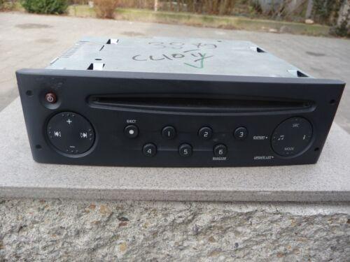 CD Radio Renault Clio II autoradio código 8200409475