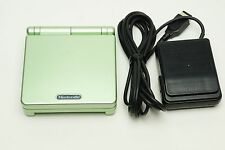 Nintendo Game Boy Advance SP Pearl Green Console System Japan Version USED