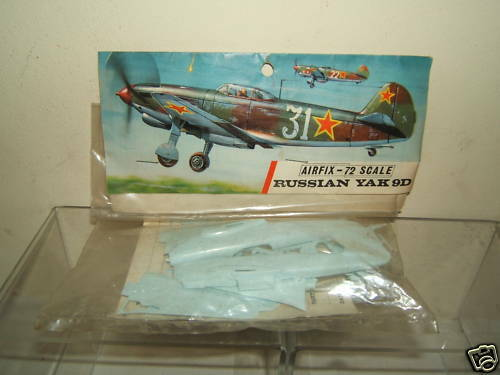 AIRFIX  KIT MODEL No XX     RUSSIAN YAK 9D  UNMADE BAG KIT