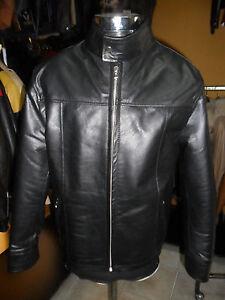 sale retailer bc242 c6b12 Dettagli su Giacca Giubbino Giubbotto biker in/di vera pelle bambino 5-  12anni