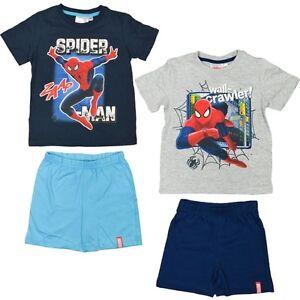Spiderman-T-Shirt-mit-Shorts-im-Set-T-Shirt-Spider-man-Shorts-98-128