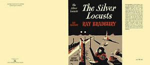 Ray-Bradbury-THE-SILVER-LOCUSTS-facsimile-dust-jacket-for-UK-first-edition-book