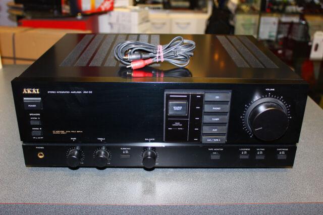 AKAI AM-32 Stereo Integrated Amplifier Verstärker | Top Zustand