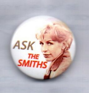 THE-SMITHS-Ask-BUTTON-BADGE-English-Rock-Band-Morrissey-25mm-Pin