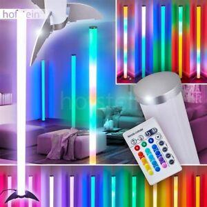LED Farbwechsler Design Stand Steh Lampe Fernbedienung Wohn Schlaf Raum Leuchten