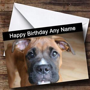 carte anniversaire chien boxer