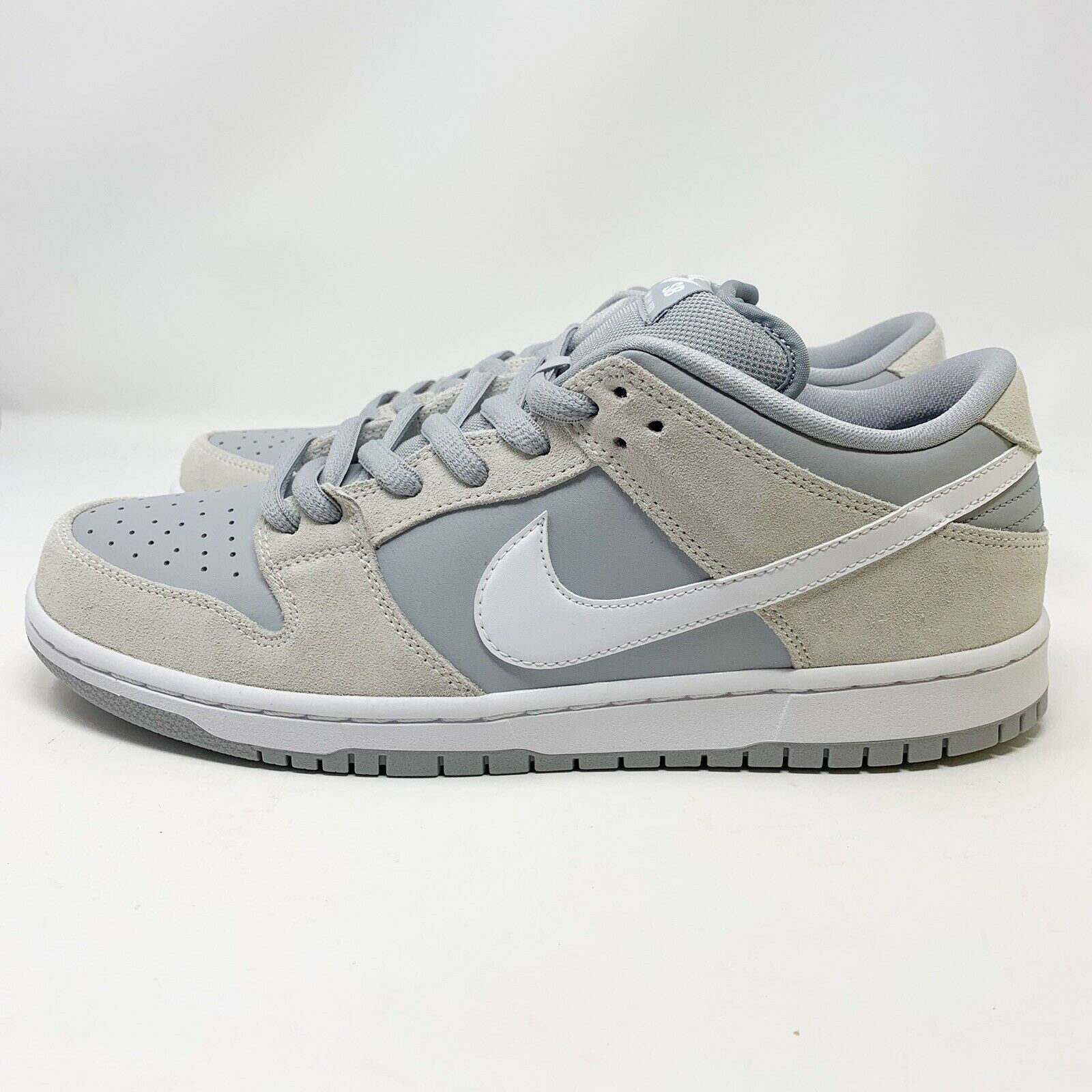 online here 100% authentic uk availability New Nike SB Dunk Low TRD Summit White White Wolf Grey Size ...