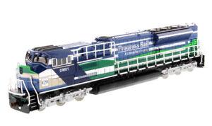 Die-cast-Masters-85534-Progress-Rail-EMD-SD70ACe-T4-Locomotive-Blue-Green-1-87
