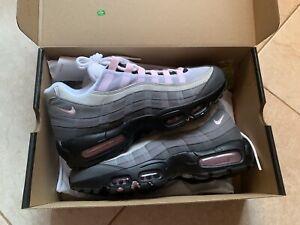 Nike Air Max 95 Black Pink Foam Gunsmoke Grey Fog Cj0588 001 Brand New Sz 9 5 Ebay