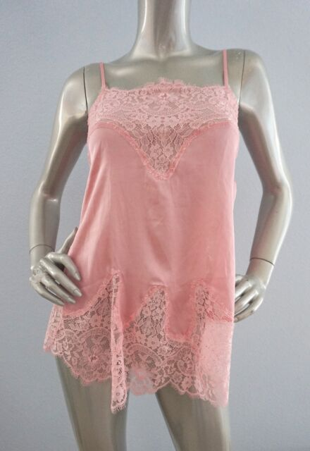525844be7f Victorias Secret Wicked by Victoria Satin Lace Babydoll Nightie Slip ...