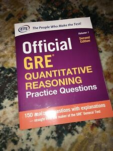 Details about Official GRE Quantitative Reasoning Practice Questions by  Educational Testing
