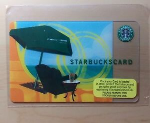 Rare-2007-034-SUMMER-ESCAPE-034-Starbucks-UK-Payment-Card-SKU-1123173