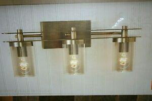 Allen Roth Lynbridge 3 Light Gold