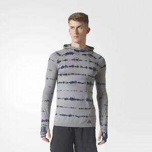 BRAND-NEW-130-Adidas-Men-039-s-Primeknit-Hooded-Tee-BQ9389