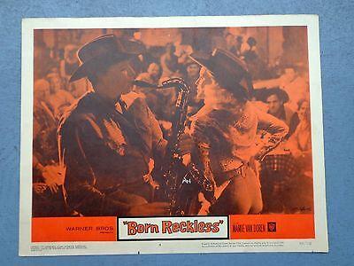 Born Reckless movie lobby card vtg 1959 Mamie Van Doren pin up country band    eBay