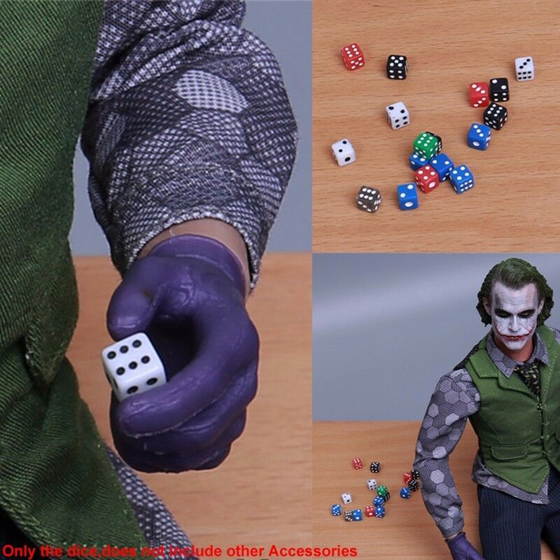 Hot Toys 1 6 Scale Mini Six Sided Dice Gambler Scene Accessories For 12'' Figure