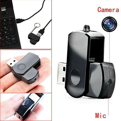 Mini DVR USB Disk HD Video Hidden Spy Camera DV Cam Motion Detection Recorder