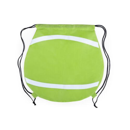 Children/'s avec cordon de serrage sac à dos sac football tennis basket design Sports Gym