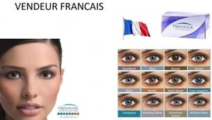 Color Contact Lenses * Lentilles de couleur * 1 year * * FRESH (USA) ORIGINAL