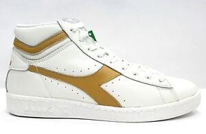 L Alta Sneaker Game Diadora Scarpe White High Amber Waxed Gold Unisex Cx0t0qwfg6