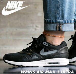 NIKE W Nike Air Max 1 Ultra 2.0 881104-002 BLACK Size 7   eBay